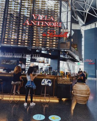 Make the wait an experience & enjoy our coffee at the airport. @vinoteca_bindella