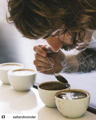 Coffee is art.  photo credit: @nom_nom.ch for @saltandwonder