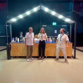 The A team. Swiss Coffee Festival.