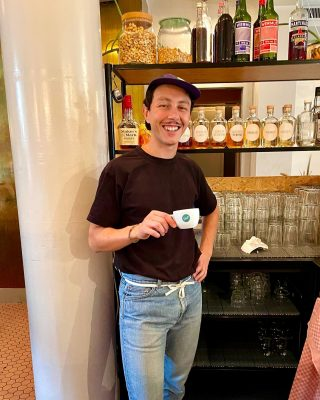 Rick Dangerous - coffee magician.