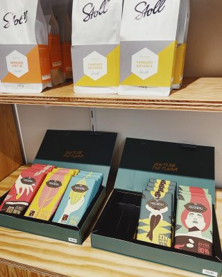 For rainy days, and all the sunny ones too..  @taucherli_chocolate available in our shop now.
